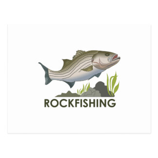 ROCKFISHING POSTCARD