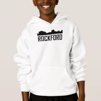 Rockford Illinois City Skyline
