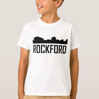 Rockford Illinois City Skyline T-Shirt
