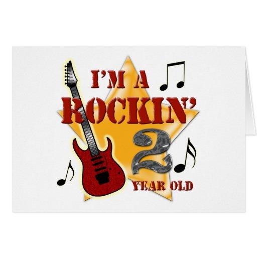 Rockin' Age 2 Greeting Card