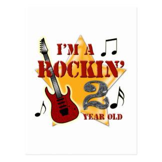 Rockin' Age 2 Postcard