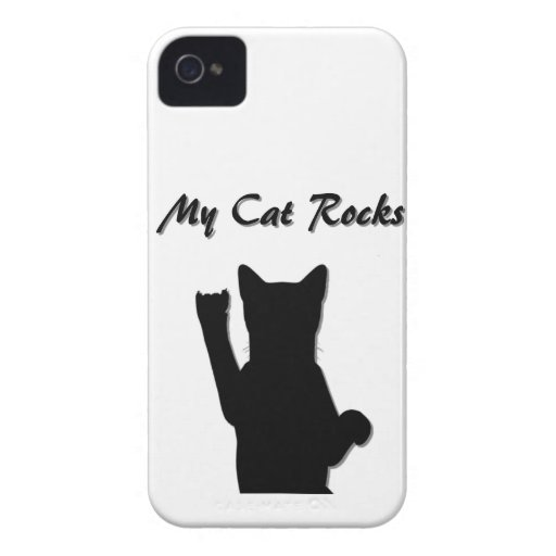 Rockin' Cat Blackberry Bold Case Mate Barely There