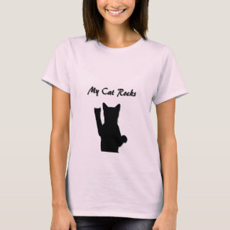 Rockin' Cat Ladies Fitted Baby Doll T-Shirt