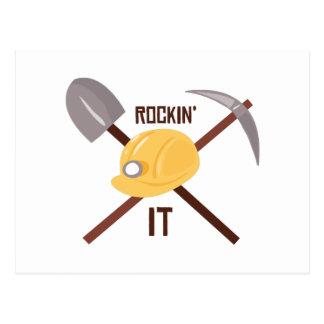 Rockin It Postcard
