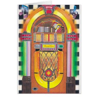 Rockin' Jukebox Card