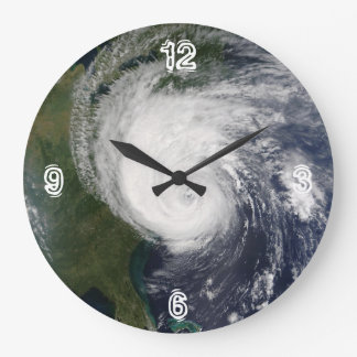 Rockin' Like A Hurricane Large Clock