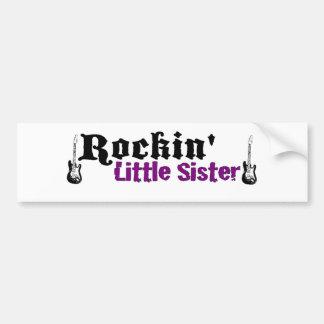 Rockin Little Sister Bumper Sticker