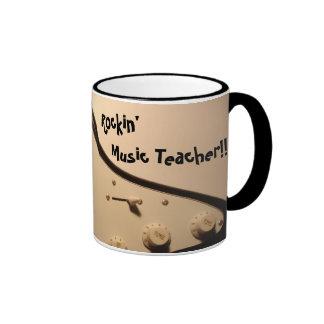 Rockin' Music Teacher!! Electric Guitar Mug