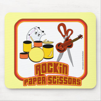 Rockin Paper Scissors Mouse Pad