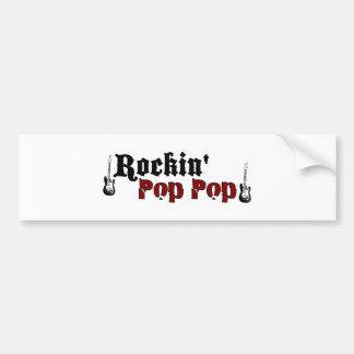 Rockin Pop Pop Bumper Sticker