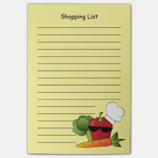 Rockin Red Pepper Shopping List Post-it Notes