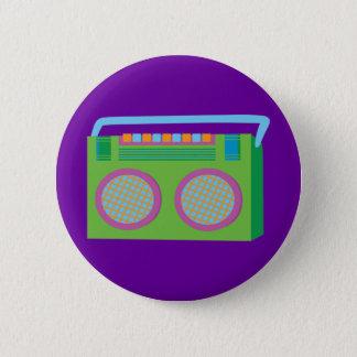 Rockin' Stereo 6 Cm Round Badge