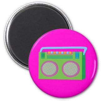 Rockin' Stereo 6 Cm Round Magnet