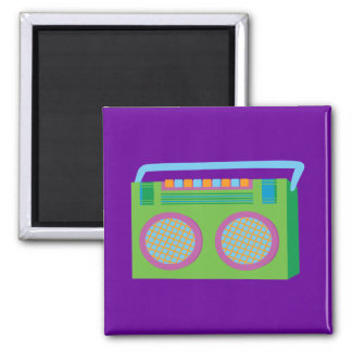 Rockin' Stereo Square Magnet