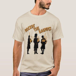 ROCKIN' THE BAGPIPES T-Shirt