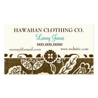 ROCKIN' VINTAGE HAWAII BUSINESS CARD