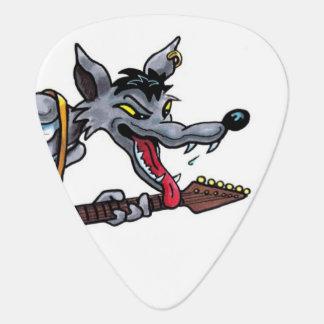 Rockin' Wolf guitar pick
