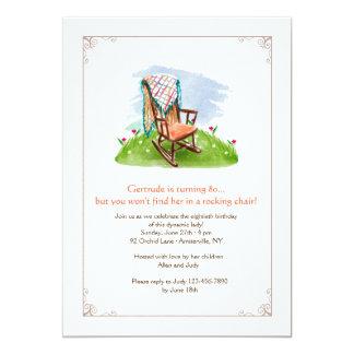 Rocking Chair Invitation