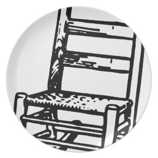 Rocking Chair Plate