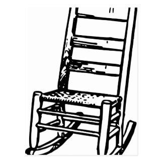 Rocking Chair Postcard