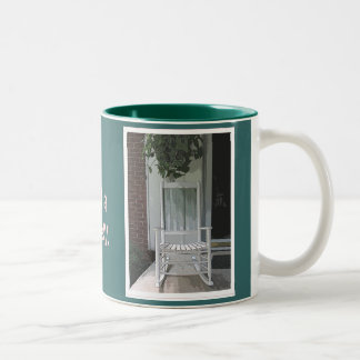 Rocking Chair Two-Tone Coffee Mug