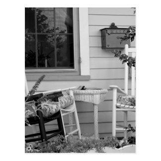 Rocking Chairs Postcard