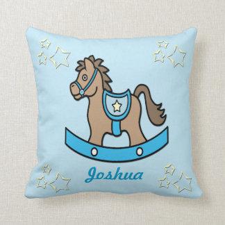 Rocking Horse Baby Keepsake Pillow Cushions