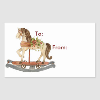 Rocking Horse - Gift Tags