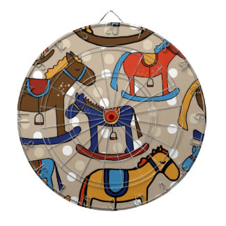 rocking horses dartboard