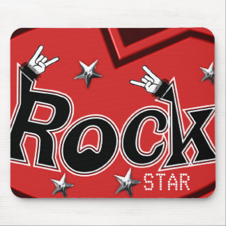 Rocking Out Rock Mouse Pad