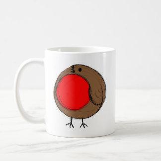 Rocking Robin Happy Christmas Mug