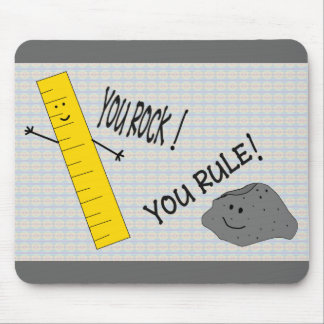 Rocking Ruler Mouse Pad