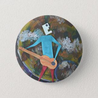 Rocking the cosmos 6 cm round badge