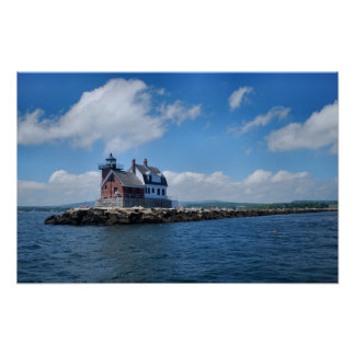 Rockland Breakwater Light poster - 1