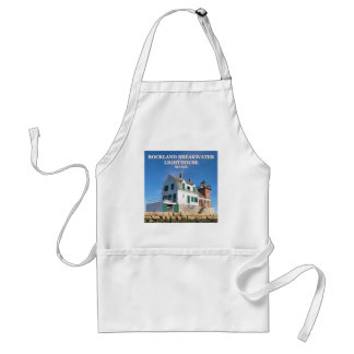 Rockland Breakwater Lighthouse, Maine Apron