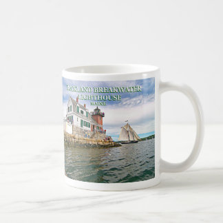 Rockland Breakwater Lighthouse, Maine Mug
