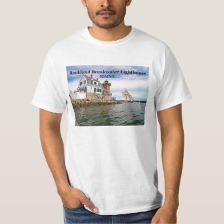 Rockland Breakwater Lighthouse, Maine T-Shirt