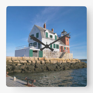Rockland Breakwater Lighthouse, Maine Wall Clock