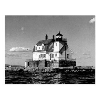 Rockland Harbor Breakwater Lighthouse Postcard