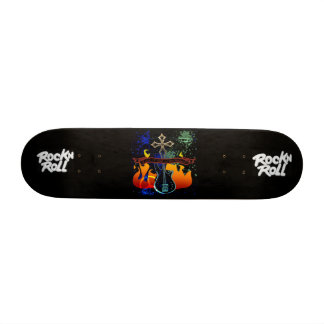 "RocknRoll - Designer 7 3/8"" Deck Skateboard"