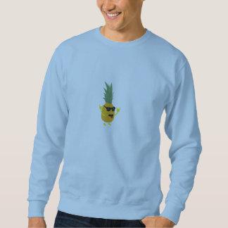 rock'n'roll pineapple sweatshirt