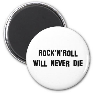 Rock'n'roll Products & Designs! 6 Cm Round Magnet