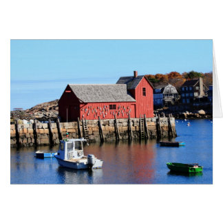 Rockport Motif Number 1 Card
