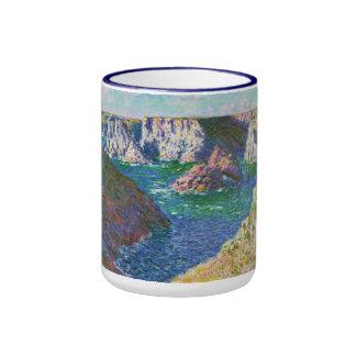 Rocks at Belle-Ile Claude Monet Mug