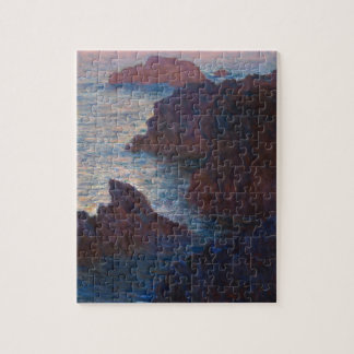 Rocks at Belle-lle, Port-Domois by Claude Monet Jigsaw Puzzle