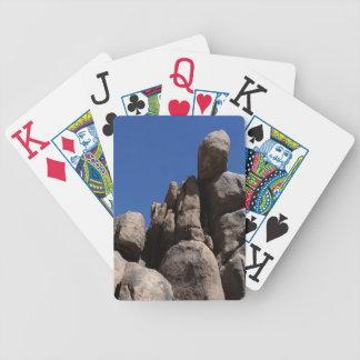 Rocks at Joshua Tree National Park Bicycle Playing Cards