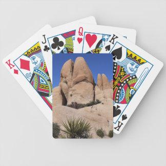 Rocks at Joshua Tree National Park Poker Deck
