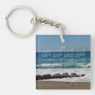 Rocks at the Beach; 2013 Calendar Acrylic Key Chains