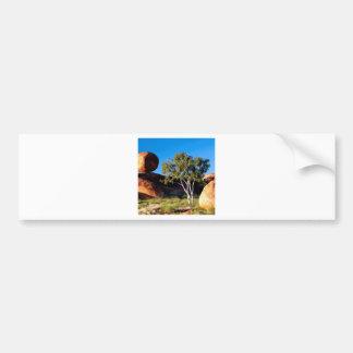 Rocks Balancing Northern Territory Australia Bumper Sticker