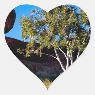 Rocks Balancing Northern Territory Australia Heart Sticker